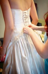 授かり婚の場合のウエディングドレス選び