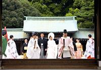 和風結婚式!由緒正しい神社神殿で結婚式