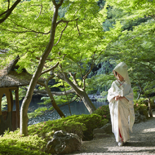 庭園だけでなく料理でも日本の四季を感じられる