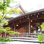 湯島天神の太鼓橋は写真撮影に人気