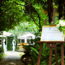 ◆都心とは思えない緑に囲まれたレストラン◆