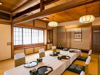 ◆季節のうつろいも愉しむ寛ぎの完全個室