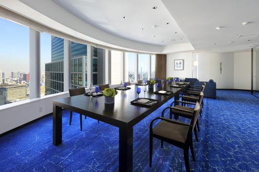 26階プライベートサロン「ブルールーム」
