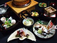 旬の京野菜・天然魚介類をお祝い料理に仕上げます。